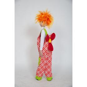Карнавальный костюм «Карлсон», полукомбинезон, парик, р. 30-32, рост 116-122 см