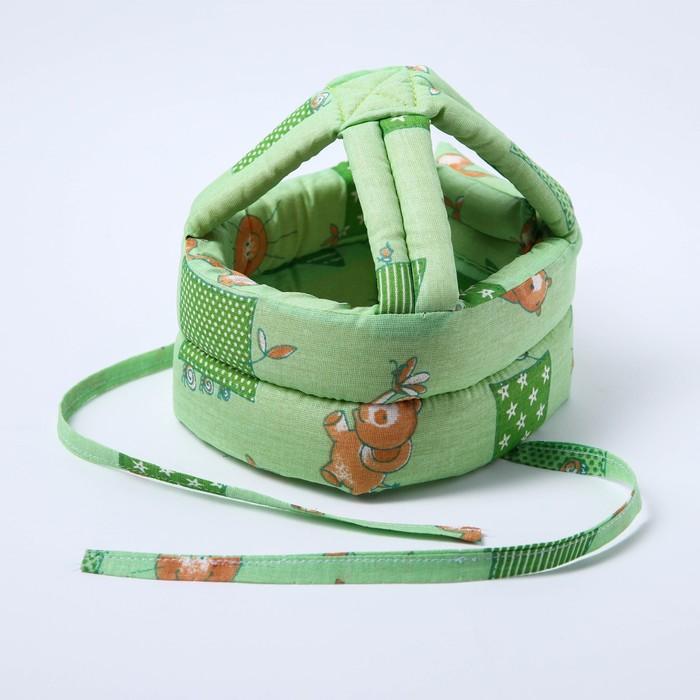 Шапка-шлем противоударный для детей, цвет МИКС