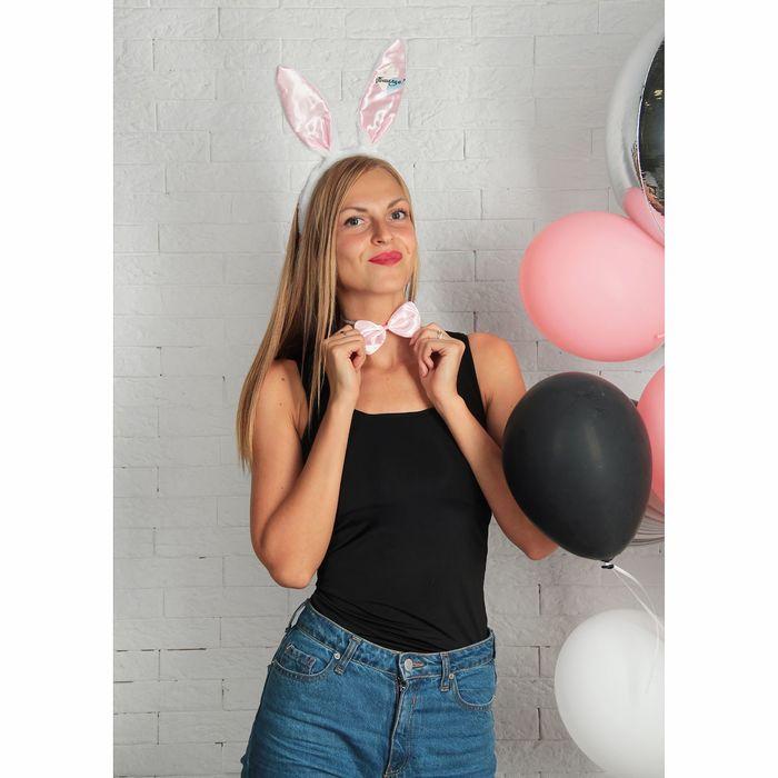 """Карнавальный костюм зайка """"Пошалим?"""" ушки, хвостик, бабочка"""
