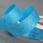 Лента декоративная «Бант», 40 мм, 23 ± 1 м, цвет голубой №2