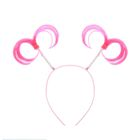 """Carnival headband """"Tails"""", the color pink"""