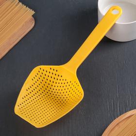 Colander spoon, 34 cm, MIX color