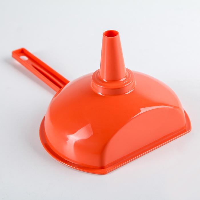Воронка со съемным фильтром, с усеченным верхним краем, d=14,5 см, длина с ручкой 22,5 см