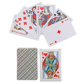Playing cards paper 54pcs, Classic. King, 57x88mm
