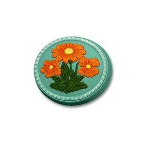 """Пластиковая форма для мыла """"Весенний букет"""" 8х7х2 см"""