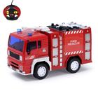 """Машина радиоуправляемая """"Пожарная"""", работает от батареек, масштаб 1:20, свет"""