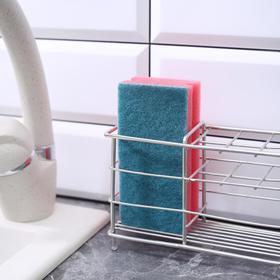 """Губка для посуды 12×6×4 см """"Генеральная уборка"""", 6 шт - фото 2898430"""