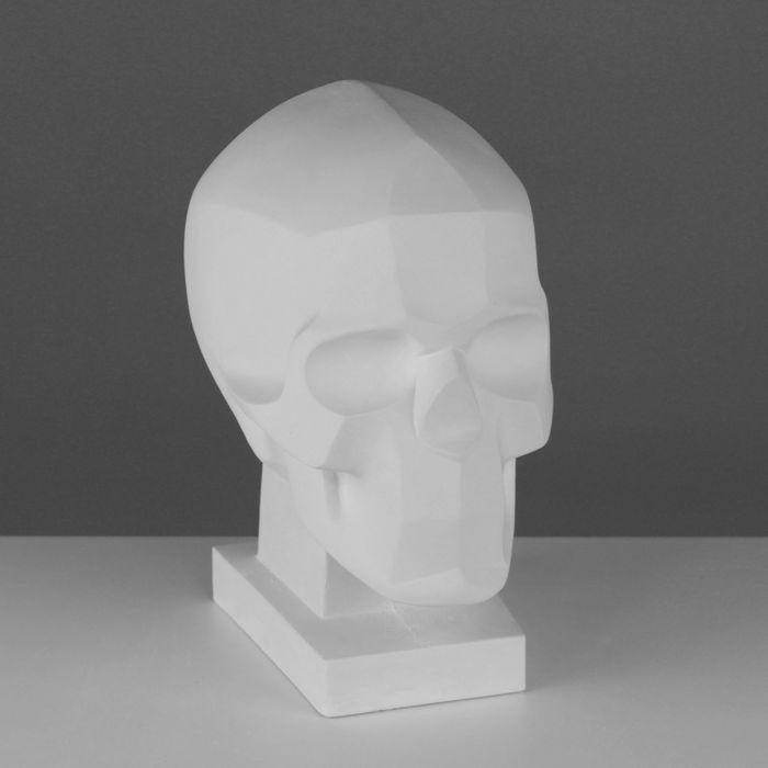 Гипсовая фигура, Обрубовка черепа по Баммесу, 23,5х16х27 см