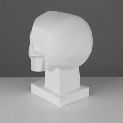 Гипсовая фигура. Обрубовка черепа по Баммесу, 23,5 х 16 х 27 см