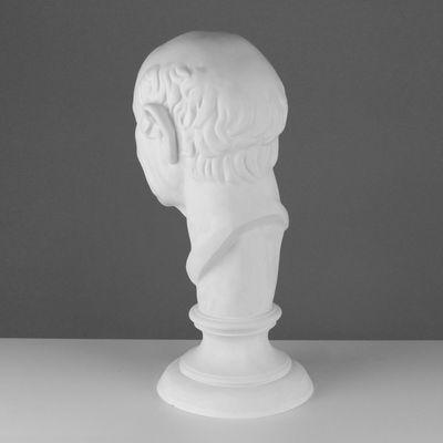 Гипсовая фигура, Голова римлянина «Мастерская Экорше», 25х25х60 см