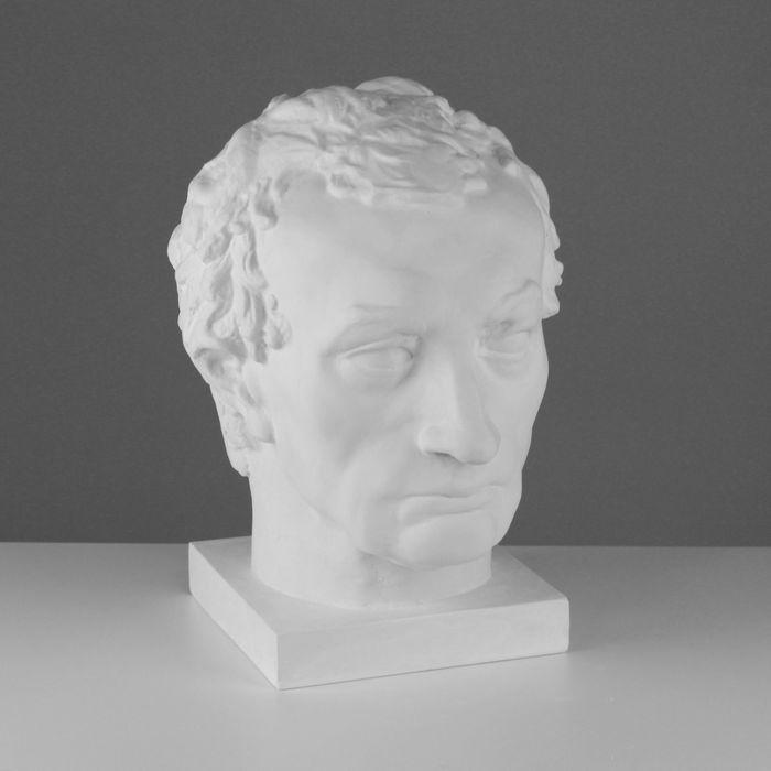 Гипсовая фигура, голова Гаттамелаты, 26 х 33 х 40 см