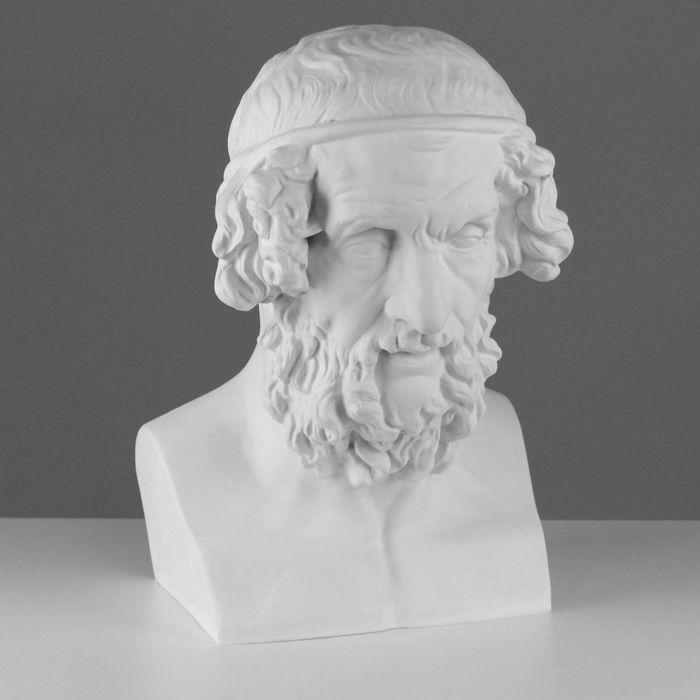 Гипсовая фигура Бюст Гомера 27,5*30*44 см 10-136