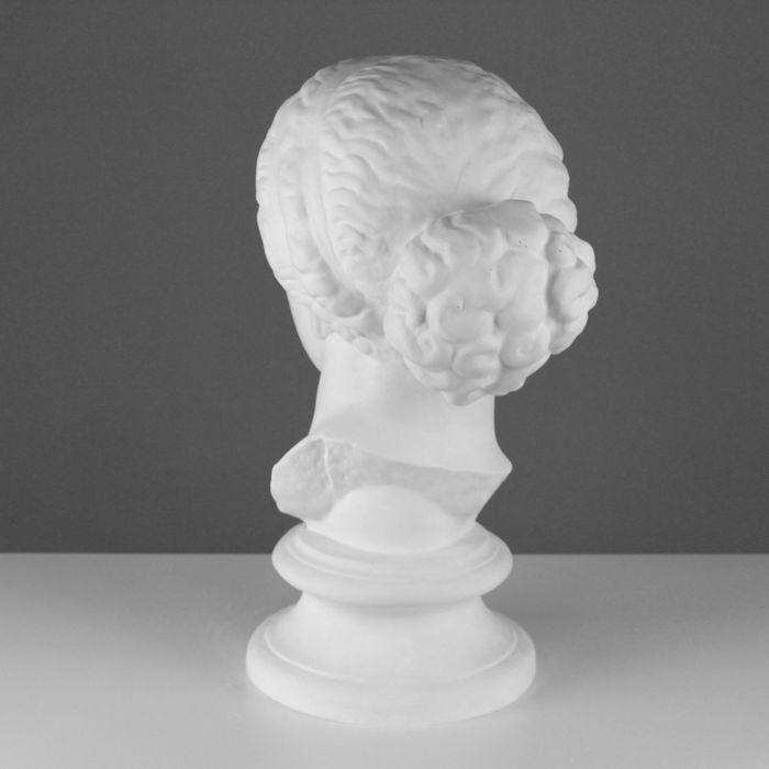 Гипсовая фигура, Голова Афродиты Книдос «Мастерская Экорше», 25х25х55 см