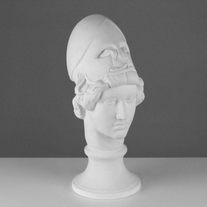 Гипсовая фигура Голова Афины Мирона 19*27*47 см 10-133