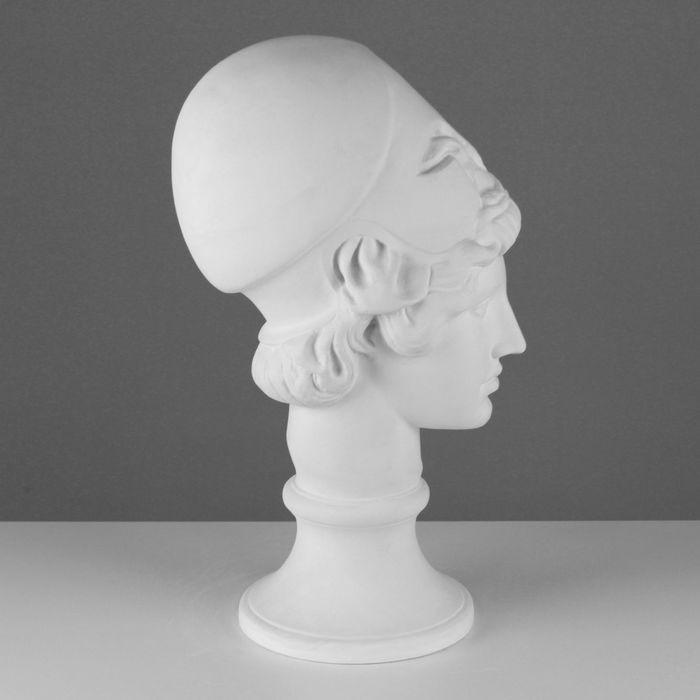 Гипсовая фигура, Голова Афины Мирона «Мастерская Экорше», 19х27х47 см