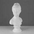 Гипсовая фигура, Бюст Луизы Броньяр «Мастерская Экорше», 24,5х17х46 см