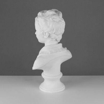 Гипсовая фигура, Бюст Александра Броньяр «Мастерская Экорше», 27х15х46,5 см