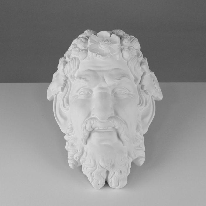 Гипсовая фигура. Маска Сатира «Мастерская Экорше», 34 х 26 х 13 см