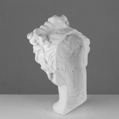 Гипсовая фигура. Маска Аполлона, 26 x 18 x 42 см