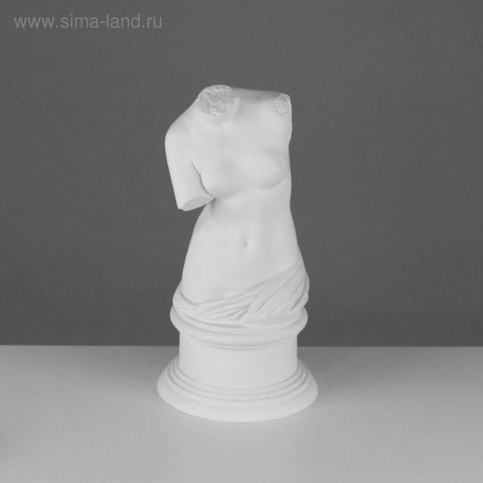 Гипсовая фигура Торс Венеры Милосской 20*20*36 см 90-902