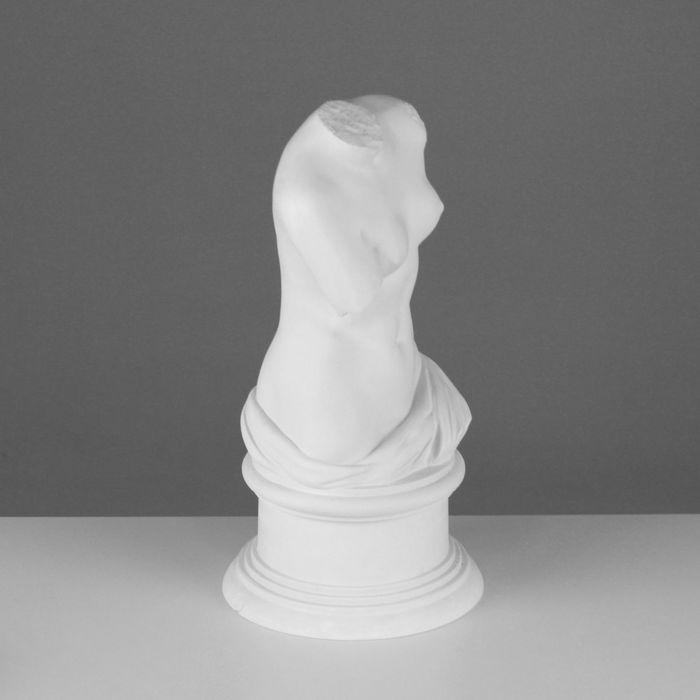 Гипсовая фигура, Торс Венеры Милосской, 20х20х36 см