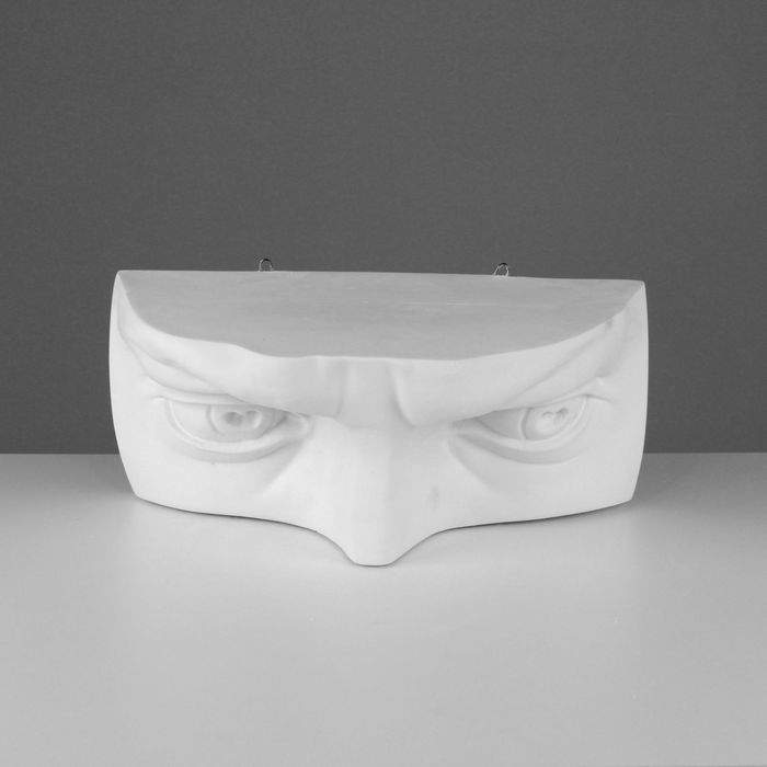 Гипсовая фигура, глаза Давида «Мастерская Экорше», 22 х 45 х 18 см