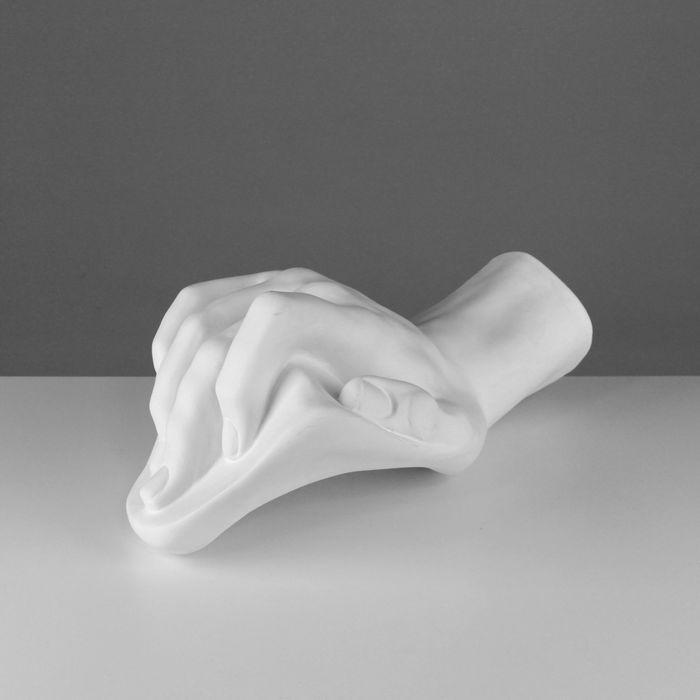 Гипсовая фигура, Кисть Давида «Мастерская Экорше», 43х25х19 см