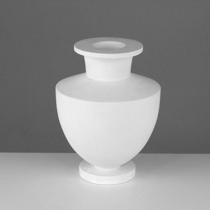 Гипсовая фигура, ваза греческая «Мастерская Экорше», 21,5 х 21,5 х 29 см