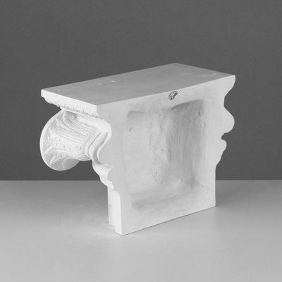 Гипсовая фигура. Полукапитель Ионическая, 34,5 х 15 х 22,5 см