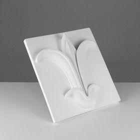 Гипсовая фигура. Орнамент «Цветок лотоса», 32 х 36 х 6 см