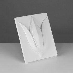 Гипсовая фигура. Орнамент «Тюльпан», 27 х 21 х 6 см