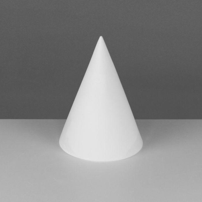 Геометрическая фигура, Конус «Мастерская Экорше», 20 см (гипсовая)