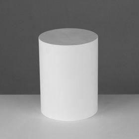 Геометрическая фигура, цилиндр «Мастерская Экорше», 20 см (гипсовая) Ош