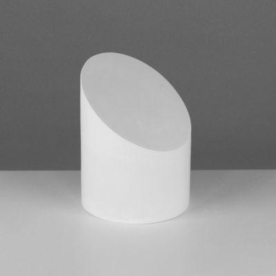 Геометрическая фигура, усечённый цилиндр «Мастерская Экорше», 20 см (гипсовая)