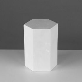 Геометрическая фигура, призма 6-гранная «Мастерская Экорше», 20 см (гипсовая) Ош