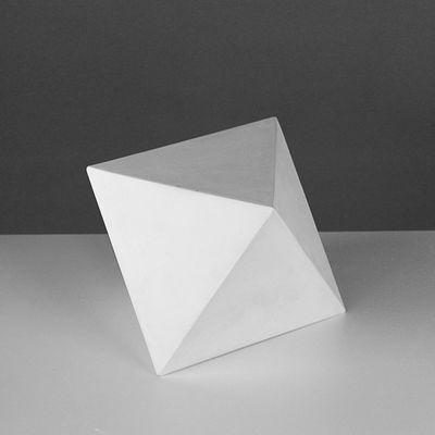 Геометрическая фигура, октаэдр «Мастерская Экорше», 15 х 18 см (гипсовая)