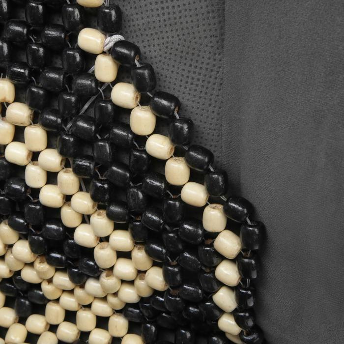 Накидка-массажер на сиденье, деревянные шарики, 38 х 130 см