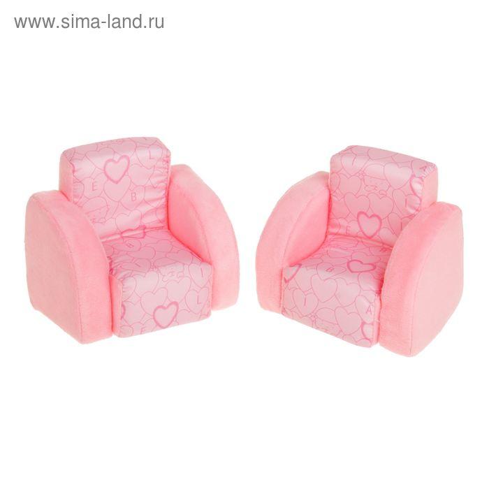 Мягкая мебель для кукол  2 кресла НМ-001/3