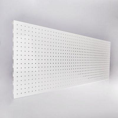 Панель для стеллажа, 45*120 перфорированная, цвет белый