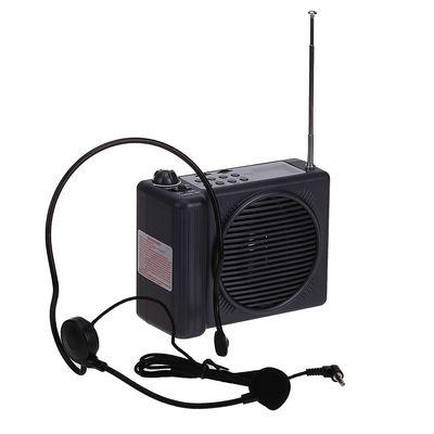 Мегафон поясной Terrasound M-188UR, 30 Вт, сирена, запись