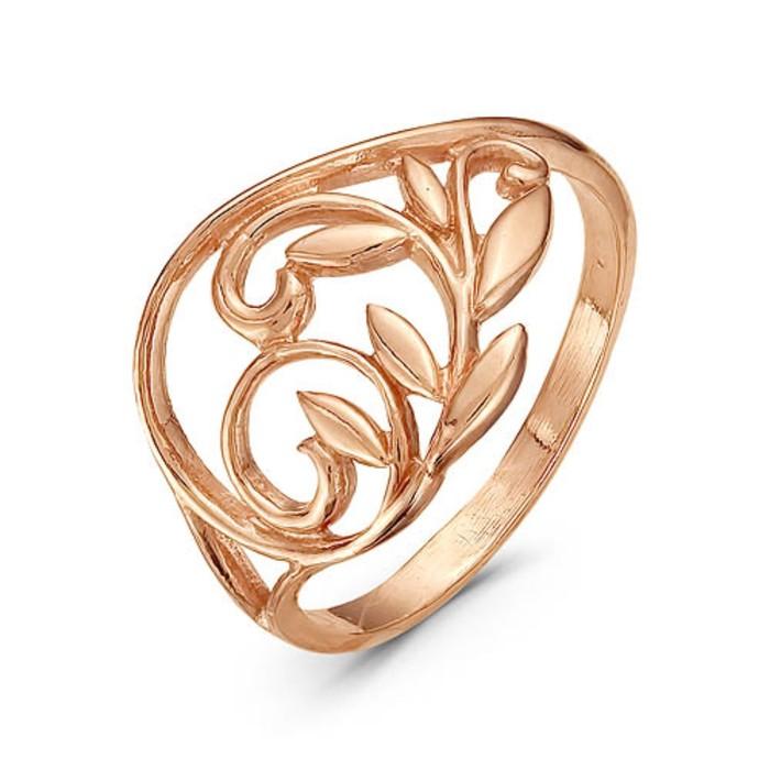 """Кольцо позолота """"Листопад"""", 17,5 размер"""