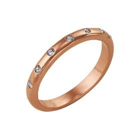 "Кольцо позолота ""Венчание"", 16,5 размер"