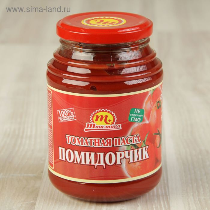 "Томатная паста ""Помидорчик"" 520 гр"