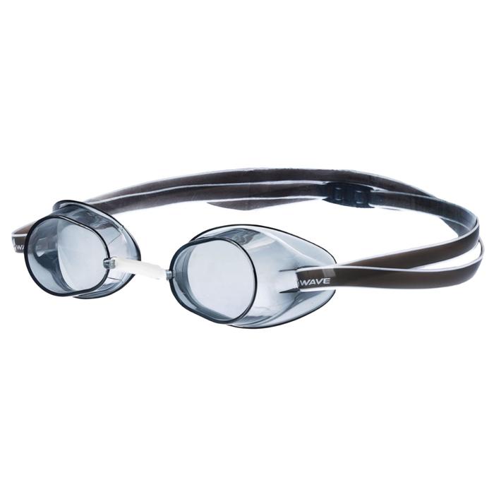 Очки для плавания стартовые Racer SW, цвет серый