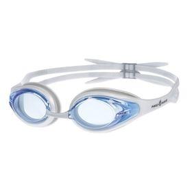 Очки для плавания Alligator, цвет серый-голубой Ош