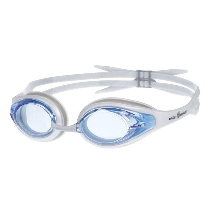 Очки для плавания Alligator, цвет серый/голубой