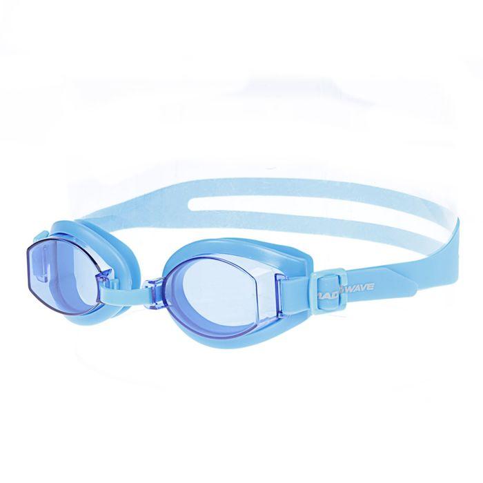 Очки для плавания Simpler, цвет голубой