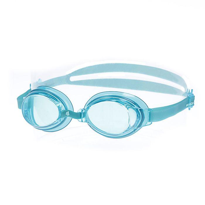 Очки для плавания Simpler II, цвет голубой