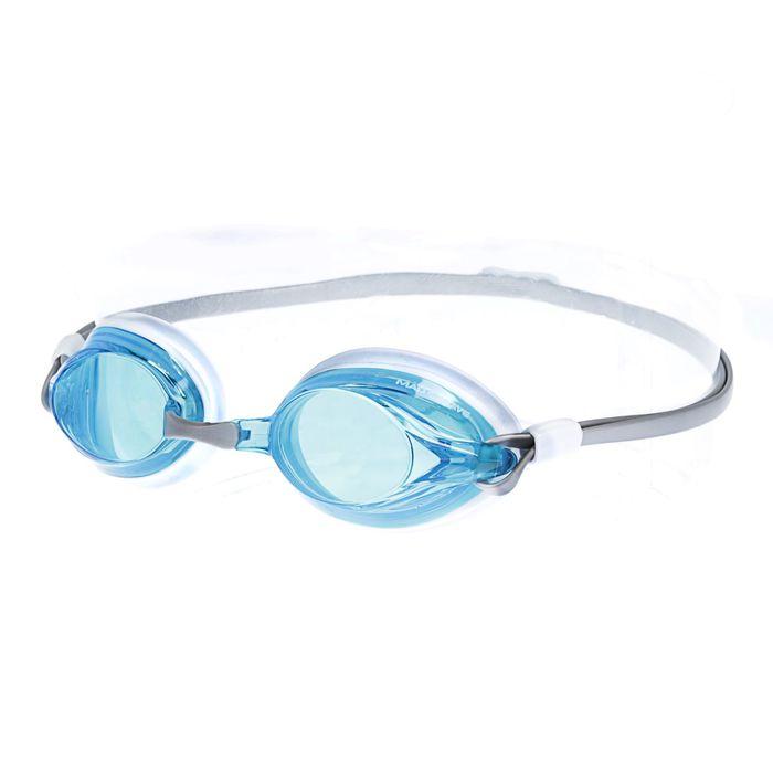 Очки для плавания SPURT, цвет серый/голубой/белый