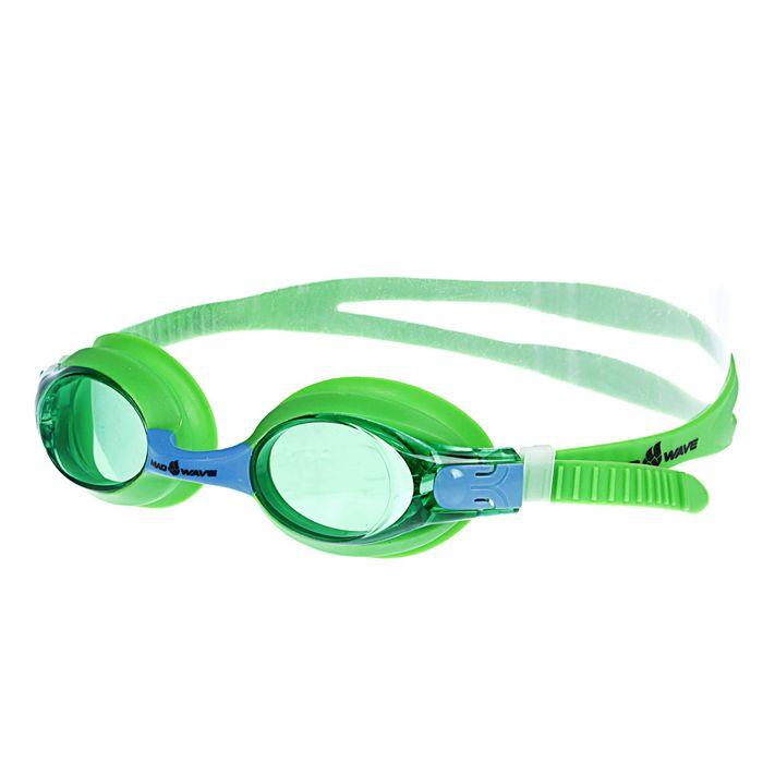 Очки для плавания юниорские Automatic Multi Junior, M0416 02 0 10W, цвет зелёный